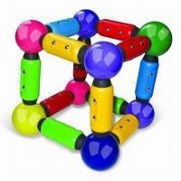 Quality Magnetic Construction Toy with Rods and Sticks, Suitable for 3 Years Old Kids for sale