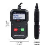 Quality 7 Languages Evap Leak Detector Smoke Machine OBD2 Auto Scan Tool STM32F103C8T6 IC Chip for sale