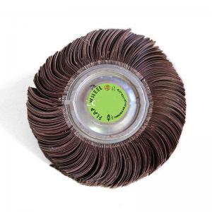 Quality Abrasive Polishing Wheels , Zirconia Alumina Grinding Wheels For Metal Surface Finishing for sale