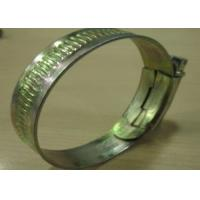 China Wire Rope Fasteners Galvanized European Hose Clamps / Clip 0.8mm Thickness on sale