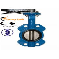 Quality Small Manual Wafer Butterfly Valves for sale
