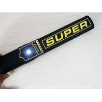 China Portable  Non Ferrous Metal Detector of distinguish ferrous with 10 LED Light on sale