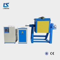 Quality 70kw 25kg Industrial Induction Melting Furnace for Steel Iron Aluminum Scrap Metal for sale