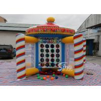 China 5in1 Outdoor blow up Kids and Adults Inflatabe Carnival Games For New Year Carnival Event on sale