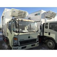 Quality Commercial Truck Refrigerators 5 Tons With FRP Sandwich Panels Box , Refrigerated Box Truck for sale