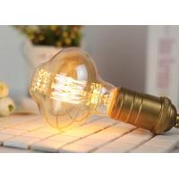Buy Special Shape Old Fashioned Filament Light Bulbs Copper Cap ROHS Accepted at wholesale prices