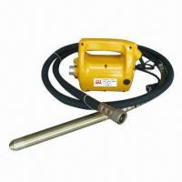 Quality Concrete Vibrator with 220 to 230V at 50 to 60Hz Voltage, 1,600 to 2,300W Input Power, 6kg Weight for sale