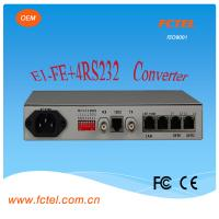 Quality Interface protocol  converter 4e1 to Eth With one  lan  Protocol Converter for sale