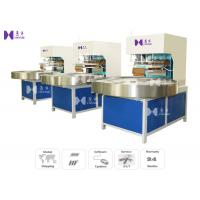Quality LED Light 27.12MHZ Blister Packaging Machine Automatic Turntable 4 Work Stations for sale