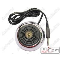 """Best Stainless Steel Round Footswitch with 1/4"""" Jack Plug[PFCT017] wholesale"""