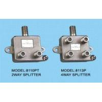 Best 5-1000MHz CATV/MATV SPLITTERS & TAPS wholesale