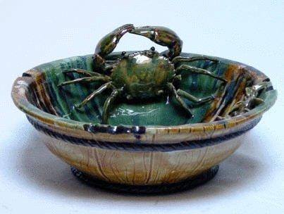 """Buy 14""""d. bowl with crabs at wholesale prices"""