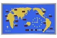 World Clock Map Images