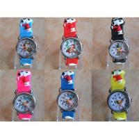 Best Disney snoopy children wristwatch 3D Kids gift watch wholesale