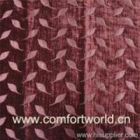 Quality Chenille Sofa Fabric Chenille Curtain SHSF01521 for sale