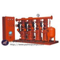 Quality domestic water supply, fire complete set of equipment constant pressure for sale
