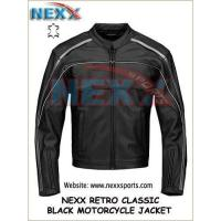 Best Retro Classic Leather Motorcycle  Jacket wholesale