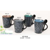 Quality Coffee mug with Spoon (SPCF030) for sale
