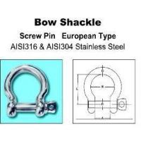 Quality Construction Industry Bow Shackle for sale