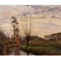 Quality Impressionist(3830) Landscape_with_Small_Stream for sale