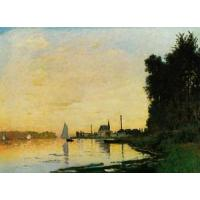 Quality Impressionist(3830) Argenteuil,_Late_Afternoon for sale