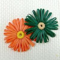 Quality Flower & Bow daisy 55mm for sale