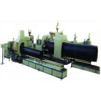 Quality Double wall HDPE corrugated pipe extrusion line for sale