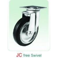 Quality JC Swivel Rubber Castor without noise for sale