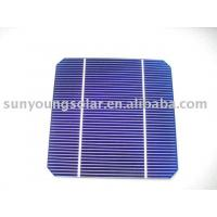 Best 125*125 PV CELL 2.55W Monocrystalline solar cell wholesale