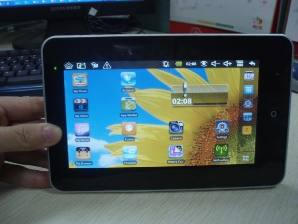 600 55 kb jpeg inch tablet pc google android 2 2 via 8650 mid 700