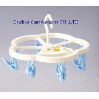 Quality XY-10025-1 plastic cloth hanger for sale