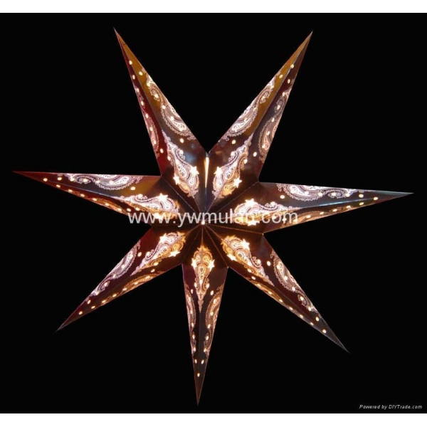 star lanterns christmas star paper lantern decoration