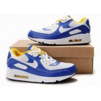 Quality New Nike Air Max Mens White Blue Black Shoes for sale