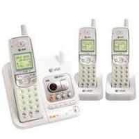Best AT&T See details AT&T EL42308 5.8 GHz Three Handset Cordless Telephone with Answering System and Caller ID wholesale