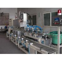 Liquid Filling System Tin Filler with 3 Heads (Square Metallic Tin) Model MG-18F-3T