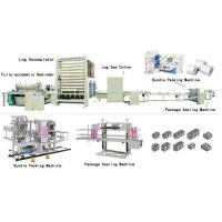 China Facial Tissue Making Fully AutoMatic Toilet Roll/Kitchen Towel Product Line  From:China  This product line is the equipment for slitting toilet paper and kitchen paper roll. With the features of high speed and... on sale
