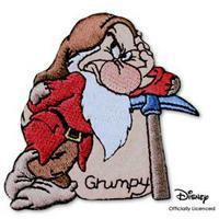 Best Disney Grumpy Dwarf Patch wholesale