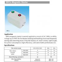 Quality SRCa Magnetic Starter for sale