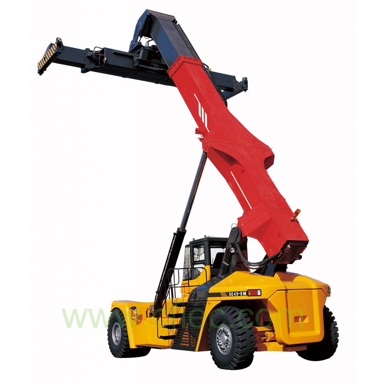 Quality Container reach stacker Details>>  Container Reach Stacker,45 ton, Cummins Engine for sale