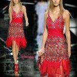 Quality Red Lace Cocktail Dress for sale