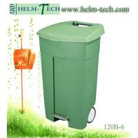 Quality Wheeled Industrial Trash Can with Pedal for sale