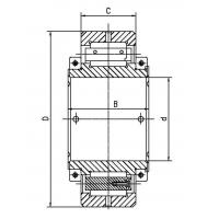 Quality Split single row cylindrical roller bearings for sale
