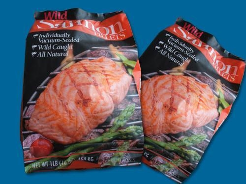 Buy Frozen Salmon Fish  Wild Alaska Salmon Fillets in Package at wholesale prices
