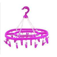 Quality 20pegs ellipse clothes hanger GY-302 for sale