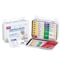 UNITIZED FIRST AID KIT, ANSI - 16 UNIT, METAL CASE[241-AN]