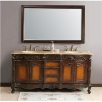 "Best 72"" Virtu USA LD-1080 Trentino Double Bathroom Vanity wholesale"