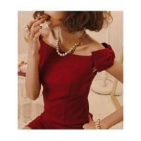 Quality European Fashion Style Sleeveless Off the Shoulder Boat Neck Bowtie Lady Night Out Dress for sale