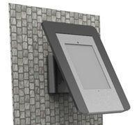 Best X series iPAD kiosks > XJ2 wallmounted all-metal steel ipad kiosk with lockable front panel wholesale