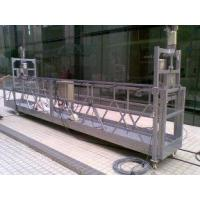 Best Hanging Scaffold Rope Suspended Platform for 500 / 630 / 800 / 1000 kg wholesale