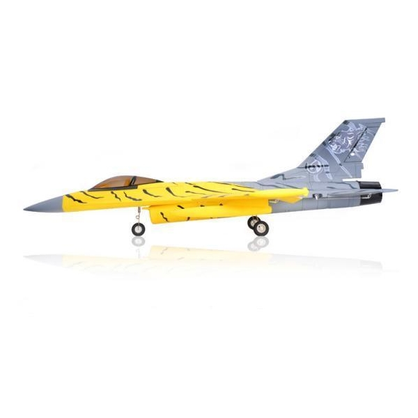 airfield 70mm brushless edf f 16 tiger jet electric ducted